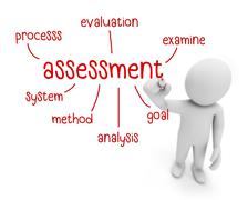 assessment - stock illustration