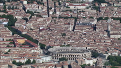 Arena Of Nimes Stock Footage