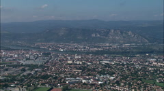 Valence aerial Stock Footage