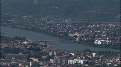 Valence aerial Stock Footage