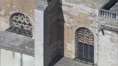 Chateau De Grignan Stock Footage