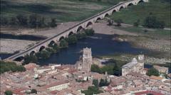 Pont-Saint-Esprit Stock Footage