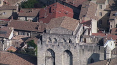 Palais Des Papes Stock Footage