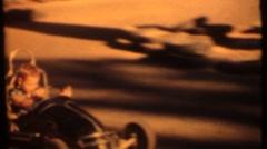 Quarter midget race cars Stock Footage