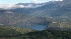 Lac De Serre-Poncon Stock Footage