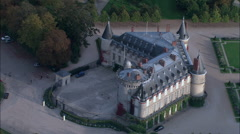 Chateau Rambouillet Stock Footage