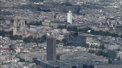 Notre Dame In Sun Stock Footage