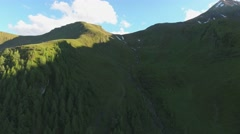 Austrian Alps - Aerial view Stock Footage