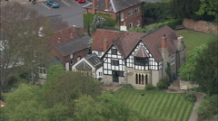 Close View Of Pub Near The River At Bidford Upon Avon Stock Footage