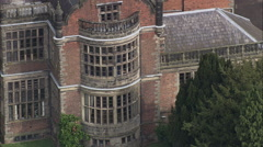 Windows At Ingestre Hall Stock Footage