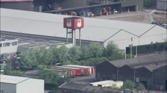 Coors Distillery At Burton Upon Trent Stock Footage