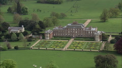 Wimpole House Stock Footage