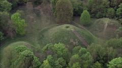 Bartlow Hills Tumuli Stock Footage
