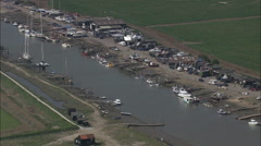 Southwold Harbour Stock Footage