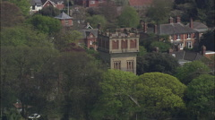 Aldeburgh aerial Stock Footage