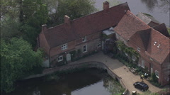 Flatford Mill John Constable Stock Footage