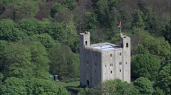 Hedingham Castle Stock Footage