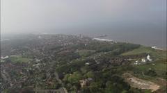 Cromer aerial Stock Footage