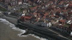 Sheringham aerial Stock Footage