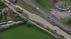 Barbridge Junction Canals Stock Footage