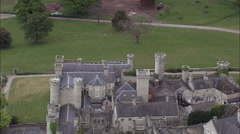 Bodelwyddan Castle Park And Trenches Stock Footage