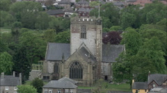 St Asaph Cathedral Stock Footage