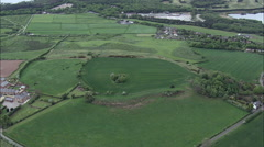 Eddisbury Hill Fort Stock Footage