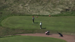 Royal Birkdale Golf Course, Southport Stock Footage