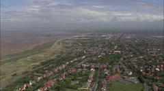 Southport aerial Stock Footage