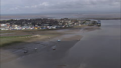 Fleetwood, Marine Harbour Stock Footage
