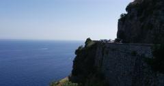 Amalfi Coast Road, Italy Stock Footage