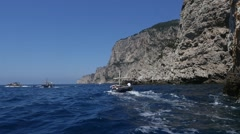 Capri Island, Italy (in Slow Motion) Stock Footage