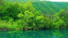 Una river landscape Stock Footage