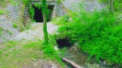 Beautiful Una river Stock Footage