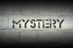 Mystery Stock Illustration