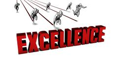 Better Excellence - stock illustration