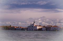Venice. Canal Della Giudecca Stock Photos