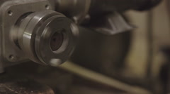 Spinning machinery Stock Footage