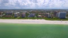 Beautiful morning in Marco Island Florida Stock Footage