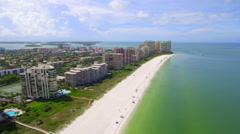 Visit Marco Island tourist destination Stock Footage