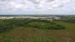 Aerial video Sawgrass Mills mall Stock Footage