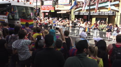 Toronto's 36th Annual Pride Parade 2016 Stock Footage