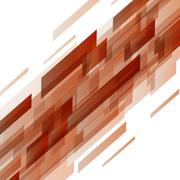 Abstract orange rectangles technology background Stock Illustration