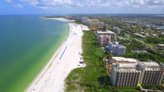 Helicopter tour Marco Island Florida Stock Footage