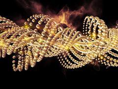 Molecular Life Stock Illustration