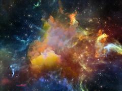 Virtual Space - stock illustration