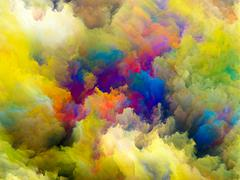 Acceleration of Color Stock Illustration