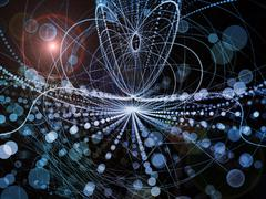 Synergies of Wave Particle Stock Illustration