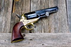 Wild West Pistol. Kuvituskuvat