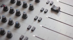 the indicators on the mixer - stock footage